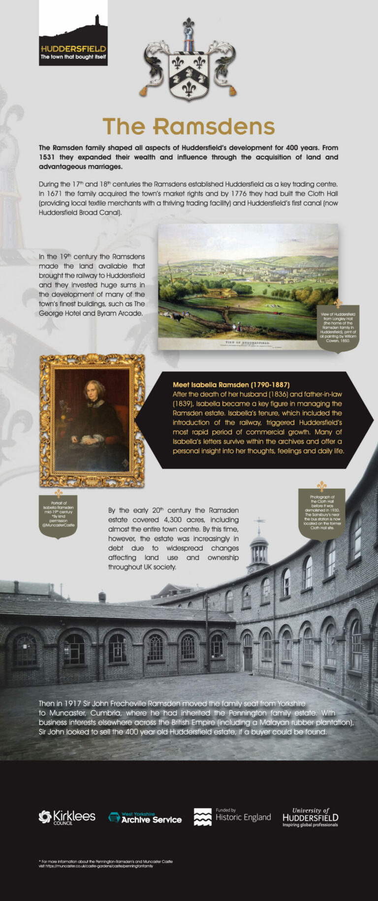 Find out more about the Ramsdens.